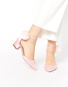 Image 1 ofASOS SAY YOU WILL Pointed Heels