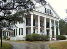 Oaklawn Manor Plantation outside of Franklin, LA built in 1837