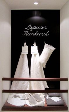 Retail design by Karell Design for Lapuan Kankurit, Finland.