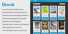 Ebook - Online ebook download and management CMS