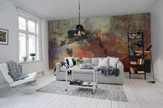Wall mural R11171 Dusky Pigment