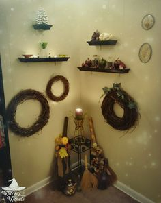 Witchy Words: Spiritual and Ritual Room 2016 (Image Heavy)