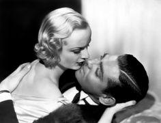 Carole Lombard e Clark Gable em Casar por Azar (1932)