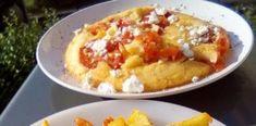Πατάτες στον φούρνο σαν τηγανητές κ ομελέτα με ντομάτες! Το απόλυτο καλοκαιρινό φαγάκι! Food Decoration, Mashed Potatoes, Cooking, Breakfast, Ethnic Recipes, Baking Center, Morning Coffee, Smash Potatoes, Koken