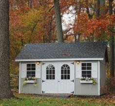 Garden Shed http://www.backyardunlimited.com/sheds/garden-sheds
