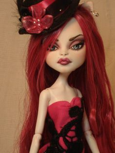 Nayla OOAK Monster High Catrine Demew Repaint by Bordello   eBay
