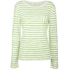 Seasalt Sketch Striped Organic Cotton Top, Lime ($25) ❤ liked on Polyvore featuring tops, shirts, long sleeve tops, long sleeves, blouses, striped shirt, nautical striped shirt, white striped shirt, shirts & tops and lime green shirt