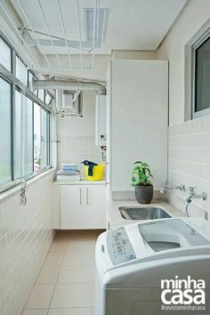 How To Organise a Small Washing Machine Yard Area Outdoor Laundry Rooms, Small Laundry Rooms, Laundry Room Storage, Laundry In Bathroom, Small Washing Machine, Laundry Room Inspiration, Balcony Design, Small Room Bedroom, Laundry Room Design