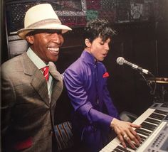 Prince and Raphael Saadig, House of Blues, West Hollywood. Photo by Afshin Shahidi