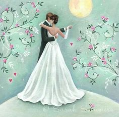 Dancing Bride & Groom