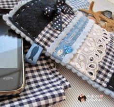 5 tutoriales para hacer fundas para móvil.