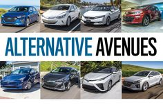 Future Car Special: Comparing Hybrids, Plug-Ins, EVs, and Hydrogen Fuel Cell Cars