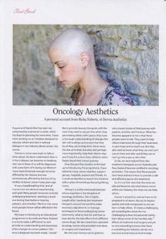 Feel Good - Oncology Aesthetics with #dermaviduals