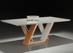 Dining Tables – Unusual – Furniture and Decorations – Table Ideas Dinning Table Design, Wooden Dining Tables, Modern Dining Table, Coffee Table Design, Dining Room Table, Unusual Furniture, Metal Furniture, Table Furniture, Furniture Design