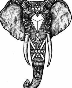 éléphant tribal - Recherche Google