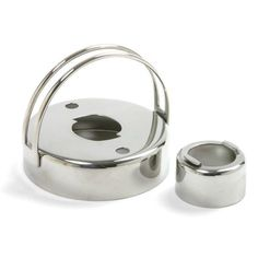 Norpro 3496 Stainless Steel Cookie Donut Bisquit Cutter