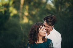 Sunlit engagement session by Trent and Jessie