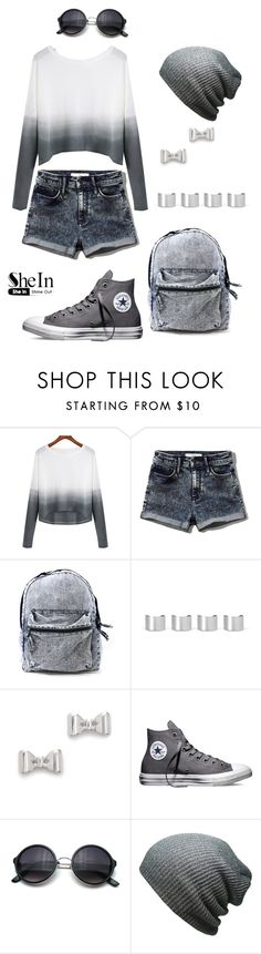 """50 shades of  grey"" by zana-k ❤ liked on Polyvore featuring Abercrombie & Fitch, Maison Margiela, Marc by Marc Jacobs, Converse, women's clothing, women, female, woman, misses and juniors"