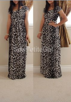 My long sleeved t-shirt maxi dress completed fashion sewing ...