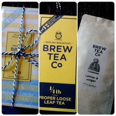 Converting our drinkers to loose leaf is the best reward! @fabulousemmalina is ditching teabags for proper loose leaf ! Happy brewing! #brewtime | Brew Tea Company