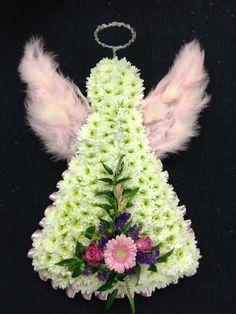 angel funeral tribute