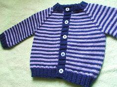 Eu fiquei com vontade de tricotar este casaquinho desde que o vi pela primeira vez. Mas na época achei que seria complicado por causa das li...