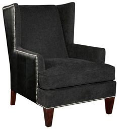 Accent Chairs and Ottomans Trenton Modern Accent Chair by Broyhill Furniture