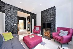 Homes for Sale in Shadwell - Buy Property in Shadwell Sofa Chair, Chairs, Living Room, Luxury, House, Furniture, Home Decor, Womb Chair, Homemade Home Decor