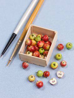 Miniature Apples Sculpture