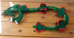 crochet rayquaza | Rayquaza ami by gwilly-crochet