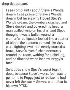 Steve's dream in Age of Ultron
