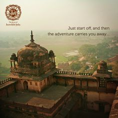 Just take the first step and land in Madhya Pradesh. The state has adventures at every turn that will mesmerise you. Government Website, Explore Quotes, India Travel Guide, Tourism Website, Madhya Pradesh, Tourist Places, Take The First Step, Travel Inspiration, Taj Mahal