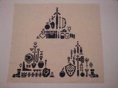 zelda cross stitch. This is really cool