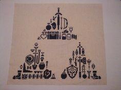 zelda cross stitch