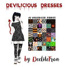 Sims 4 CC's - The Best: Dress by Deelitefulsimmer