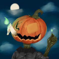 Pumpkin Carving, Moonlight, Challenge, Halloween, Digital, Art, Art Background, Kunst, Pumpkin Carvings