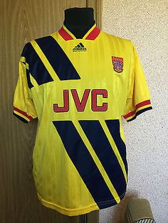 0fb4b033959 Rare arsenal london #england #1993/1994 away #football shirt jersey maglia  adidas