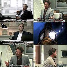 Sherlock/Avengers crossover! <<< Technically it's a Sherlock, Sherlock Holmes, & Avengers crossover.
