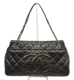 Chanel Caviar Timeless Handbag Black Tote Bag $2,695