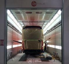 Estufa de alta performance | High standards painting system #liderbus
