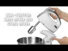 Sunbeam Hand and Stand Mixer Combo Best Stand Mixer, Hand Mixer, Handstand, Lp, Handstands, Easel