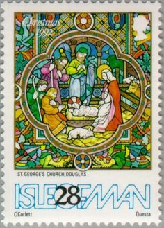 Stamp: Scenes from the Bible (Isle of Man) (Christmas) Mi:IM 525,Yt:IM…