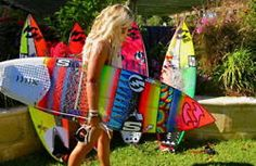 I don't surf, but I want that board for decoration.