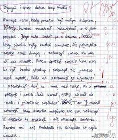 Trudno uwierzyć, co na klasówkach potrafią pisać (i nie tylko!) polscy uczniowie. Oglądając te sprawdziany, uśmiejecie się do łez, zwłaszcza że poczucia Sheet Music, Bullet Journal, Math Equations, Humor, Fun, Humour, Funny Photos, Funny Humor, Comedy