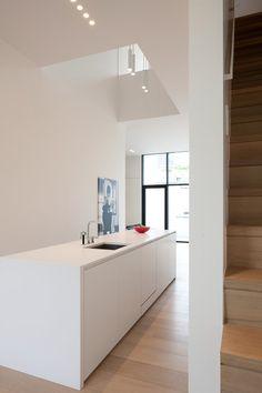 R.R. Antwerpen — AR+ Light Architecture, Interior Architecture, Interior And Exterior, Interior Design, Kitchen Interior, Kitchen Dining, Sweet Home, New Homes, Kitchens