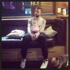 Jeremy with little Bliss