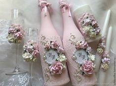 Свадебные аксессуары - купить или заказать в интернет-магазине на Ярмарке Мастеров - CJZH9RU | Набор свадебных аксессуаров в нежно розовом…