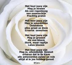 Gedicht voor mijn dochter
