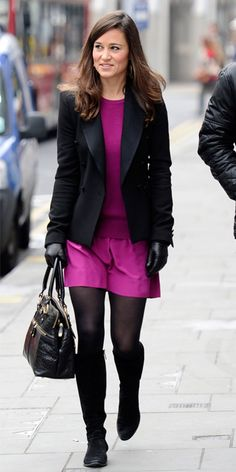 Pippa Middleton's Memorable Style Moments - November 16, 2011 from #InStyle