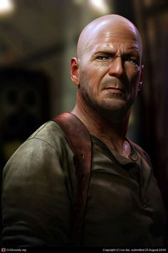 Name: rui dai Country: China Software: max, mental ray, Photoshop, ZBrush Hello guys! Bruce Willis is my idol; I want to create his visual… 3d Portrait, Portraits, Digital Portrait, Portrait Photography, Digital Art, Portrait Illustration, Digital Illustration, Zbrush, Man Character